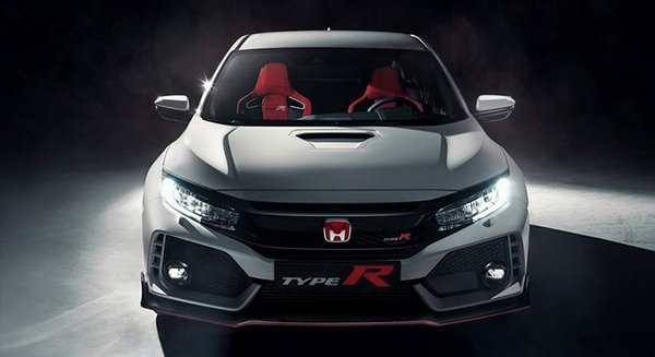 Honda Civic Type R 2018 front view