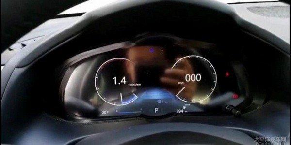 Mazda 3 2019 instrument cluster