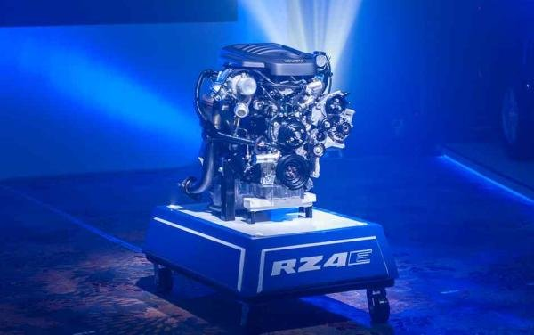 The 1.9 L turbo-diesel RZ4E engine