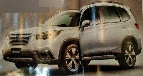Subaru Forester 2019 angular front
