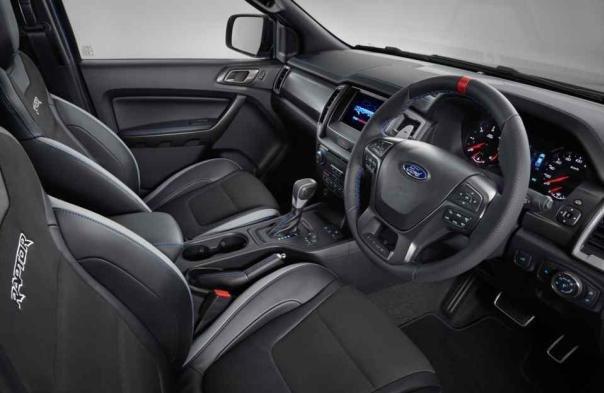 Ford Ranger Raptor 2019 interior