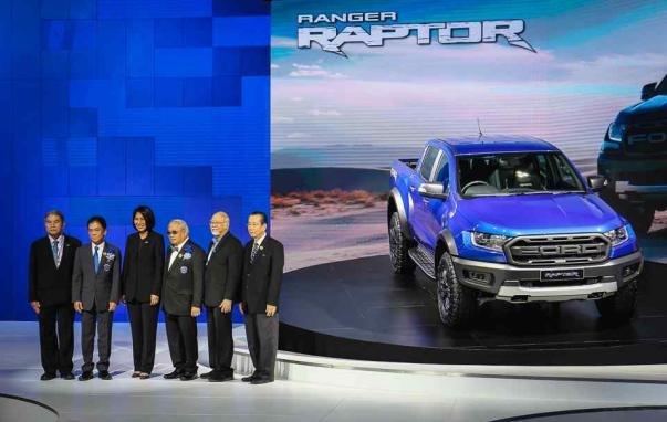 Ford Ranger Raptor 2019 at the Bangkok International Motor Show 2018