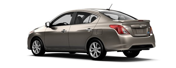 Nissan Almera 2018 angular rear