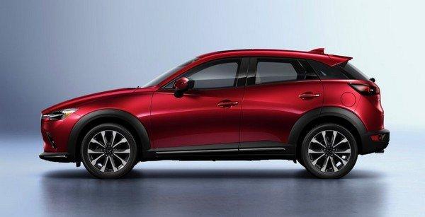 Mazda CX-3 2019 side view
