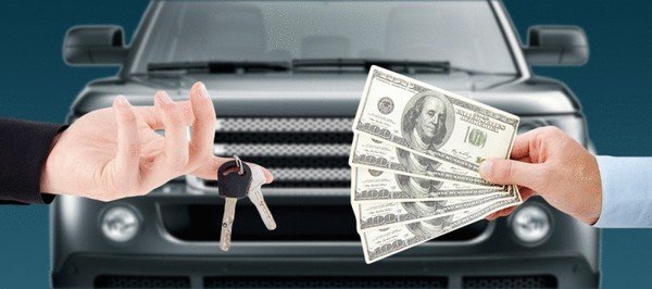 Buying car with cash