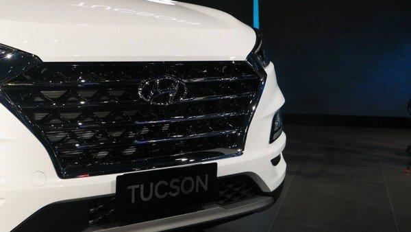 Hyundai Tucson 2019 front grille