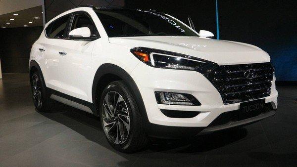 Hyundai Tucson 2019 angular front