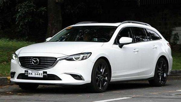 Mazda 6 wagon 2018 angular front