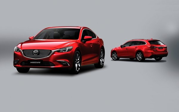 Mazda 6 2018 sedan and wagon