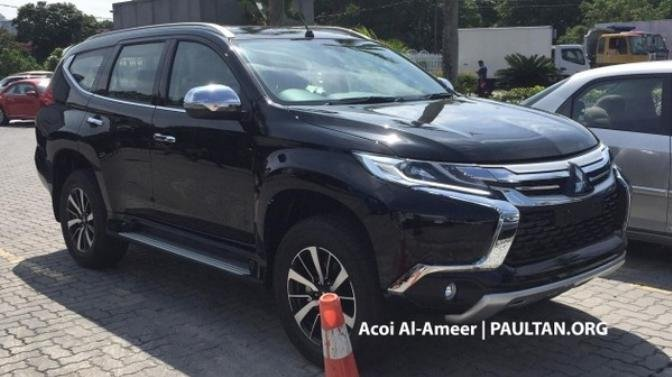 Mitsubishi Pajero Sport 2019 Spied In Malaysia Will It Hit Our