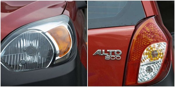 Suzuki Alto 2018 lighting