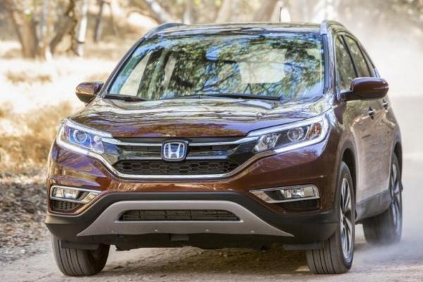 Honda CRV 2017 angular front