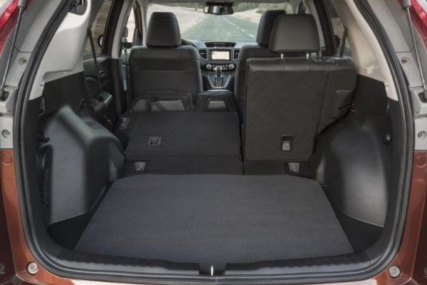 Honda CRV 2017 cargo space