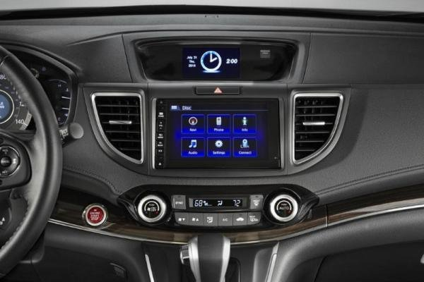 Honda CRV 2017 dashboard
