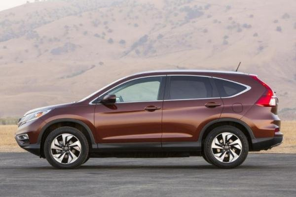 Honda CRV 2017 side view
