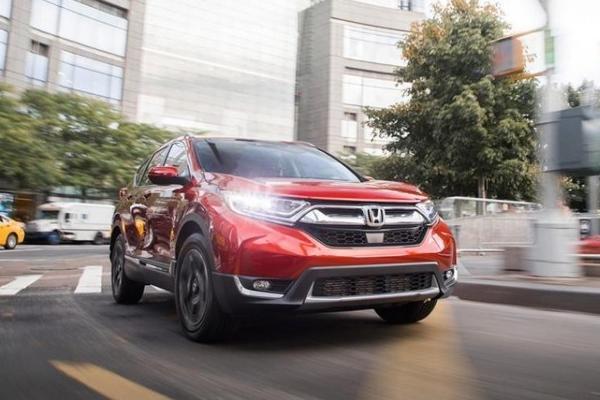 Honda CRV 2018 angular front