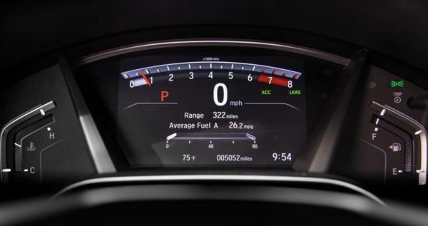 Honda CRV 2018 odometer
