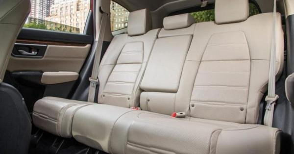 Honda CRV 2018 rear seats