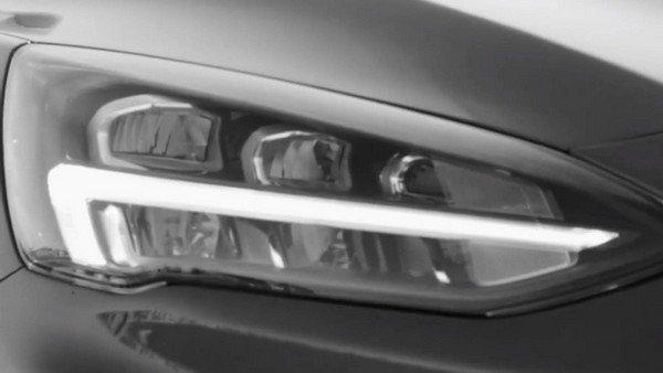 Ford Focus 2019 teaser headlight