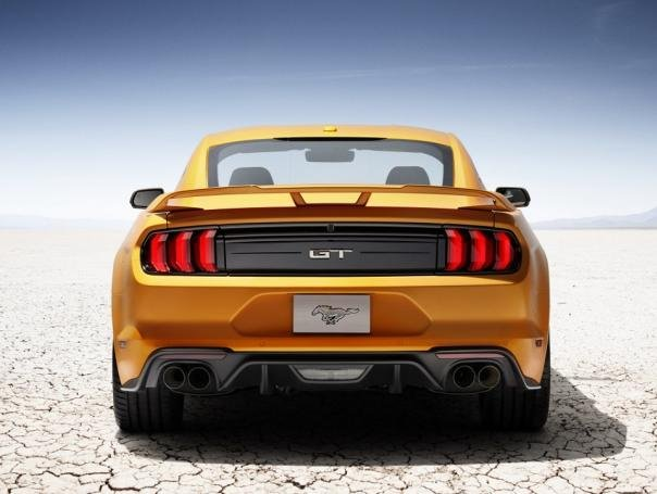 Ford Mustang 2018 rear view