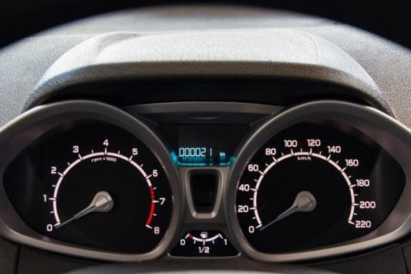 Ford EcoSport 2017 odometer