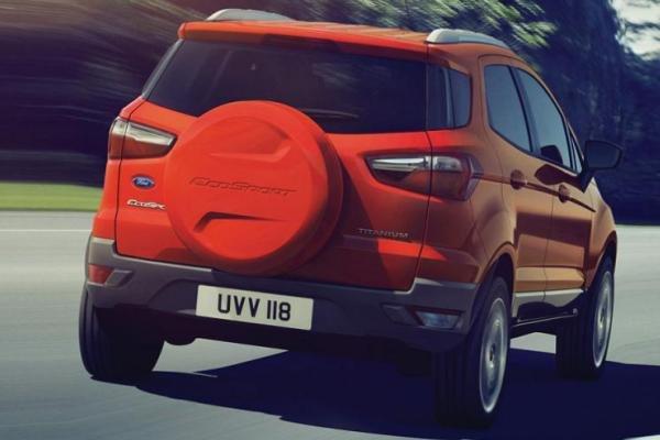 Ford EcoSport 2017 angular rear