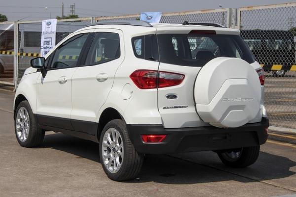 Ford EcoSport 2018 angular rear