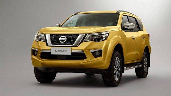 Nissan Terra 2018 angular front