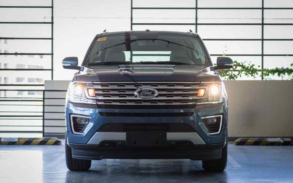 Ford Expedition EL 2018 front view