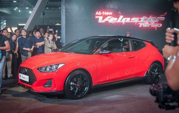 Hyundai Veloster 2019 angular front
