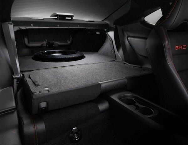 Subaru BRZ 2018 cabin space