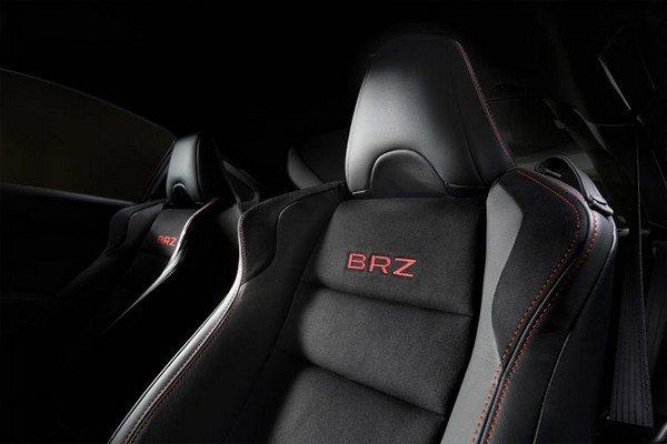 Subaru BRZ 2018 seats