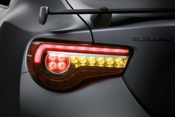 Updated Subaru BRZ 2018 taillight
