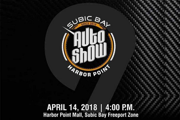 9th Subic Bay Auto Show poster
