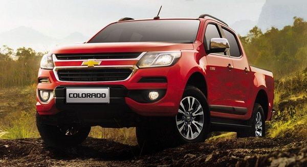 Chevrolet Colorado 2018 angular front