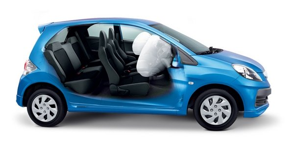Honda Brio 2018 airbag system