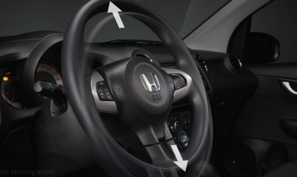 Honda Brio 2018 steering wheel