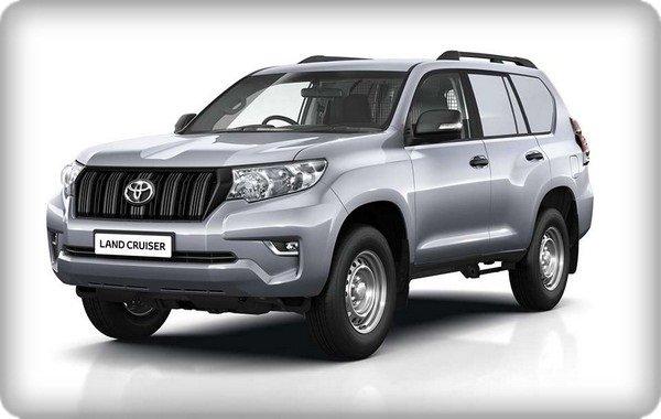 Toyota Land Cruiser Prado Utility 2018 angular front