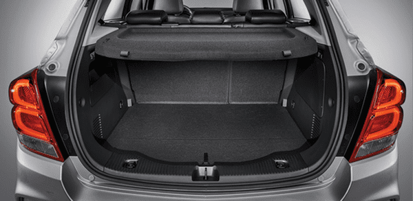 Cargo space of The Chevrolet Trax 2018