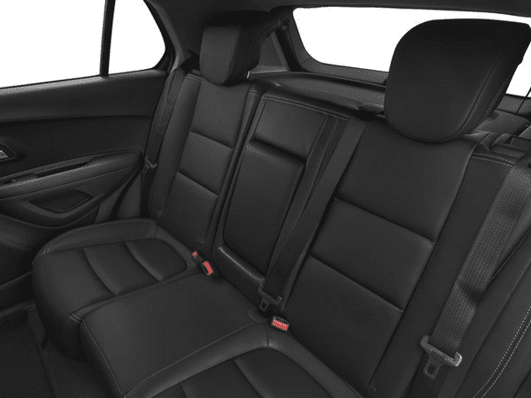 Rear seats of The Chevrolet Trax 2018