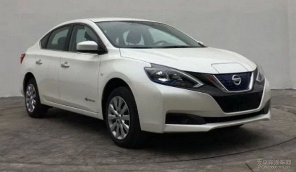 Nissan Sylphy EV 2018 angular front
