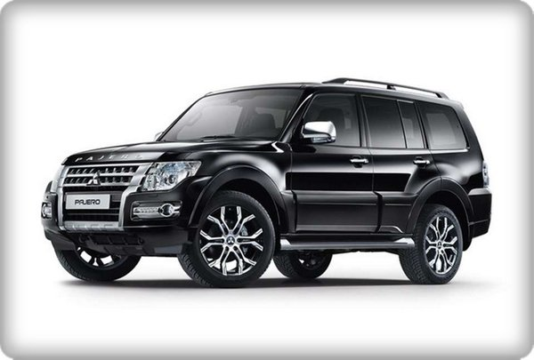 Mitsubishi Pajero Final Edition five-door configuration