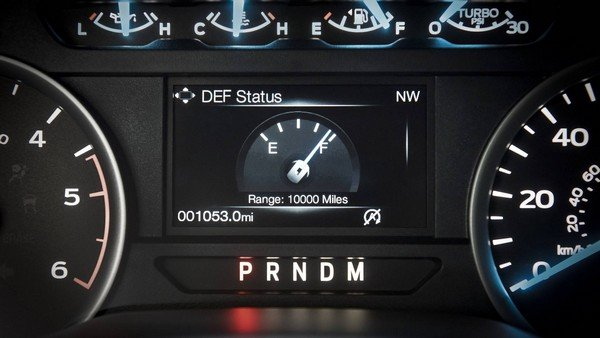 Ford F-150 2018 odometer