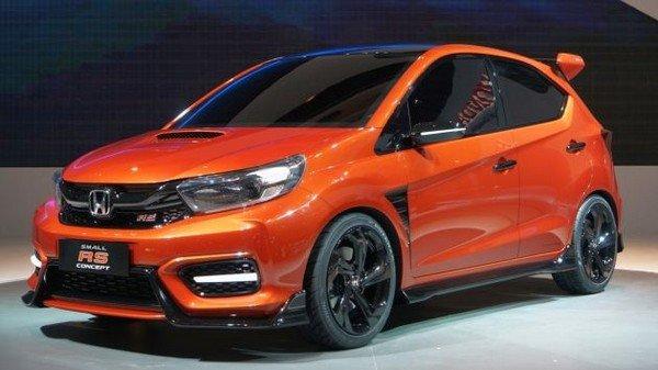 Honda Small RS Concept 2018 angular front