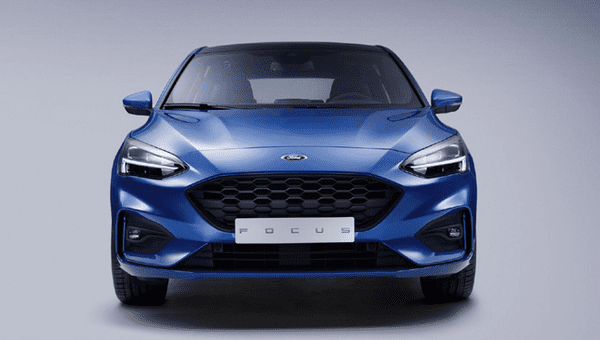 The front of the Ford Focus 2019