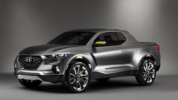Hyundai Santa Cruz angular front