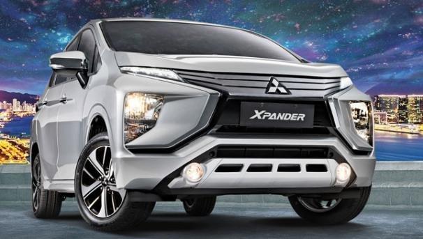 Mitsubishi Xpander 2018 front view