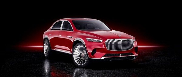 Vision Mercedes-Maybach Ultimate Luxury concept angular front