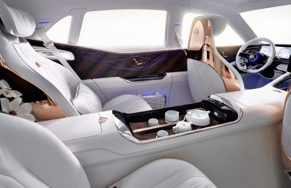 Vision Mercedes-Maybach Ultimate Luxury concept cabin