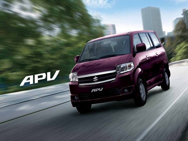 Suzuki APV 2018 Philippines on the road